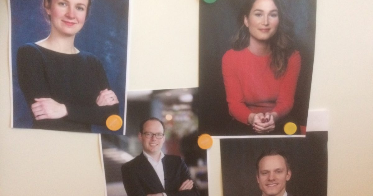 Vier jonge advocaten vertellen over hun verantwoordelijkheden