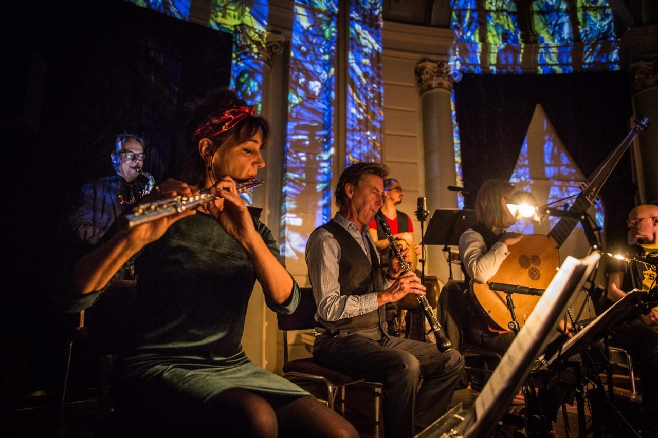 Nederlands Blazers Ensemble Foto: Peter Lodder