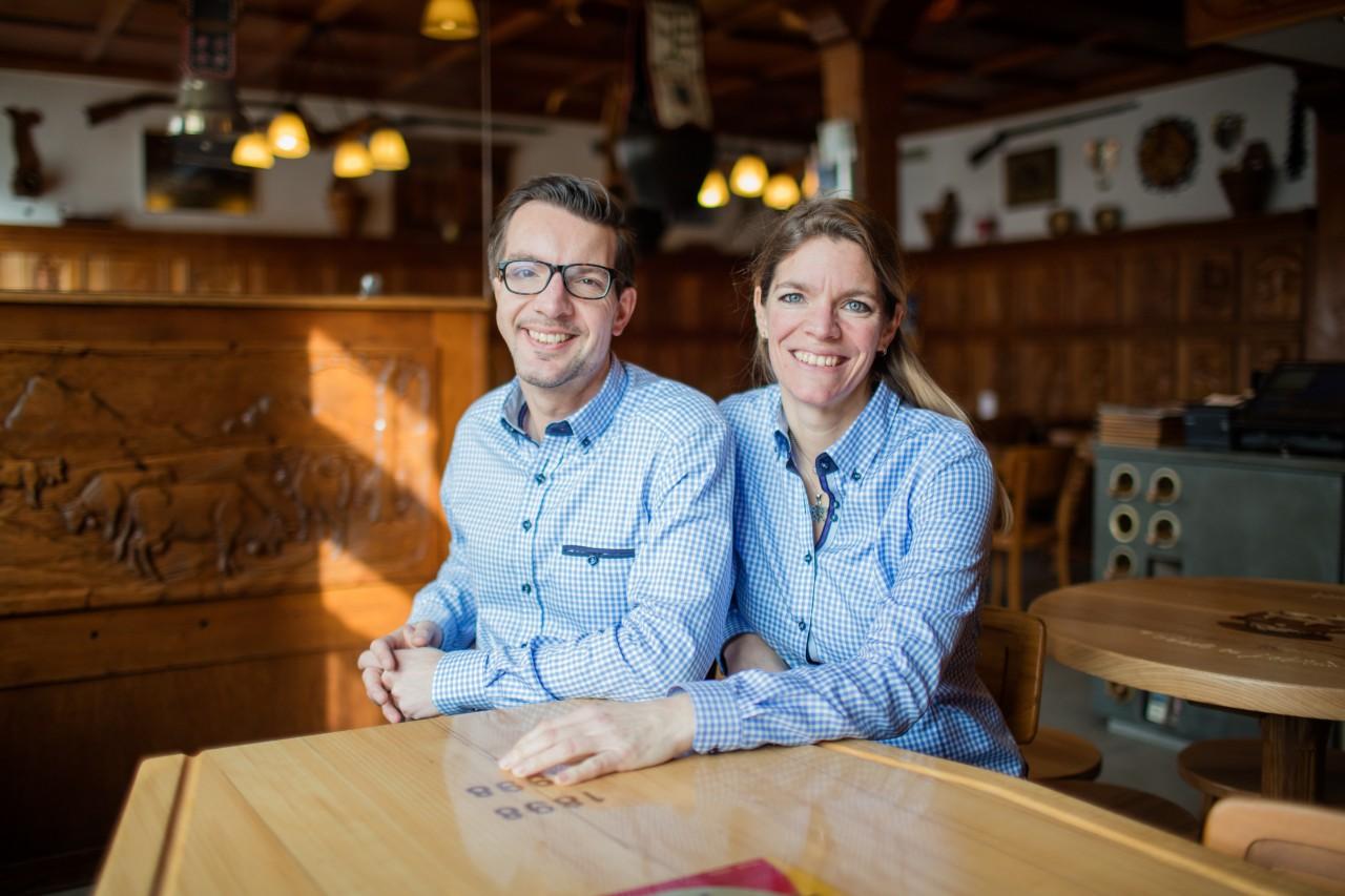 Damien en Sarah Colliard van Café Tivoli