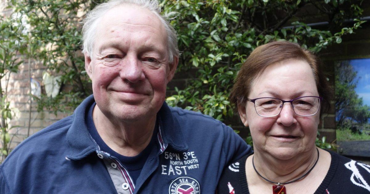 Martin en Monique Lenoire